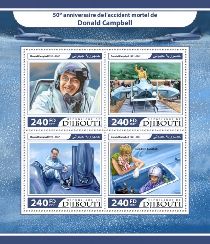 [The 50th Anniversary of the Death of Donald Campbell, 1921-1967, Typ ]