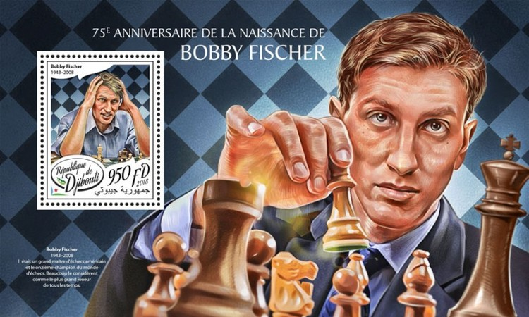 [The 75th Anniversary of the Birth of Bobby Fisher, 1943-2008, Typ ]