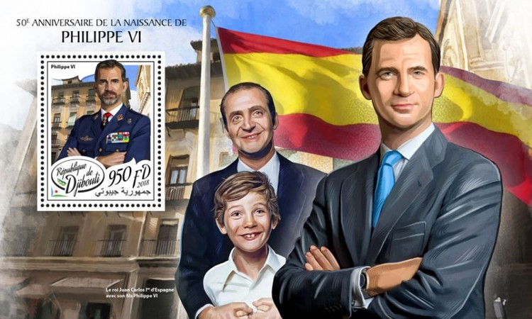 [The 50th Anniversary of the Birth of Philippe VI, Typ ]