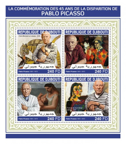 [The 45th Anniversary of the Death of Pablo Picasso, 1881-1973, Typ ]