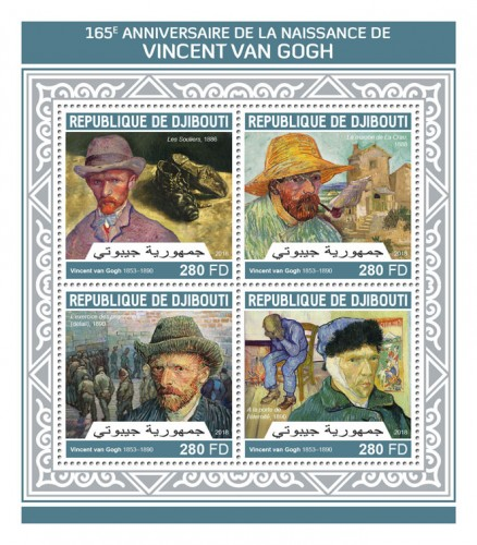 [The 165th Anniversary of the Birth of Vincent van Gogh, 1853-1890, Typ ]