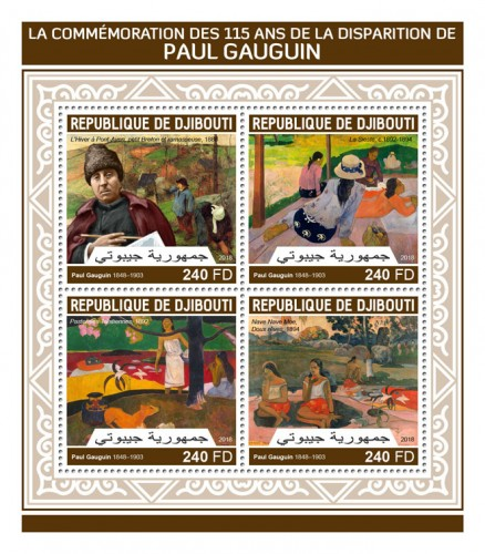 [The 115th Anniversary of the Death of Paul Gauguin, 1848-1903, Typ ]