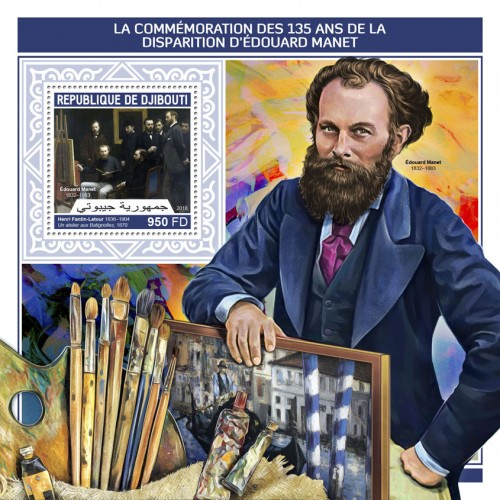 [The 135th Anniversary of the Death of Edouard Manet, 1832-1883, Typ ]