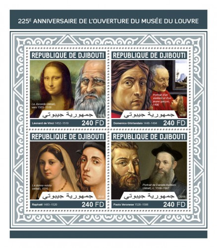 [The 225th Anniversary of the Louvre Museum, Typ ]