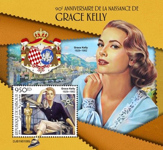 [The 90th Anniversary of the Birth of Grace Kelly, 1929-1982, Typ ]