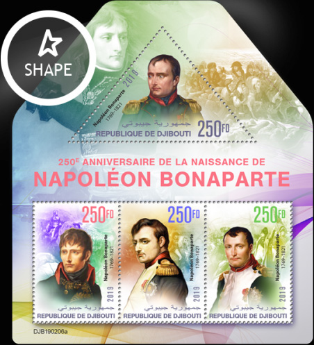 [The 250th Anniversary of the Birth of Napoleon Bonaparte, 1769-1821, Typ ]