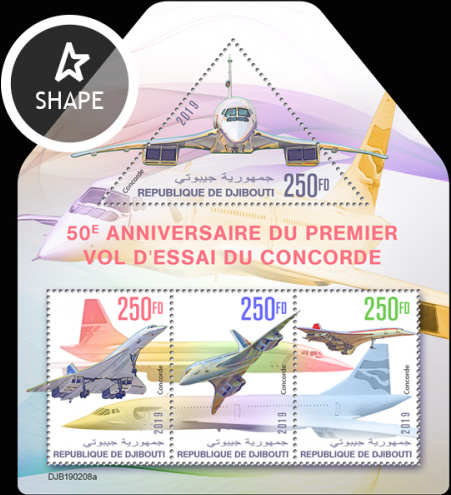 [The 50th Anniversary of the First Test Flight of Concorde, type ]