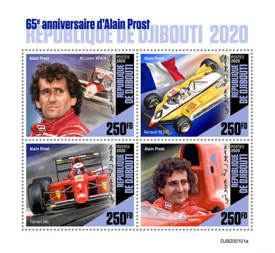 [The 65th Anniversary of the Birth of Alain Prost, Typ ]