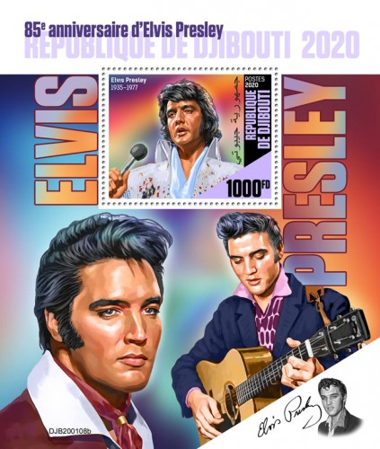 [The 85th Anniversary of the Birth of Elvis Presley, 1935-1977, type ]