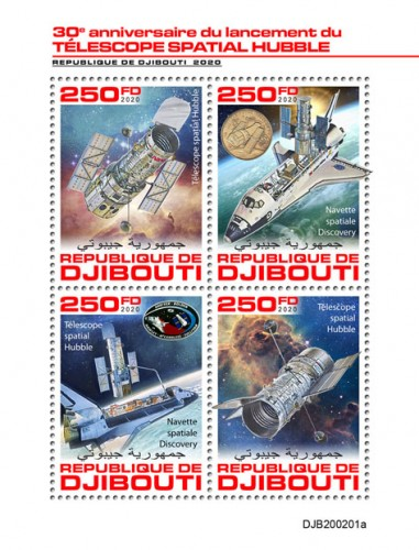 [The 30th Anniversary of the Launch of the Hubble Space Telescope, type ]