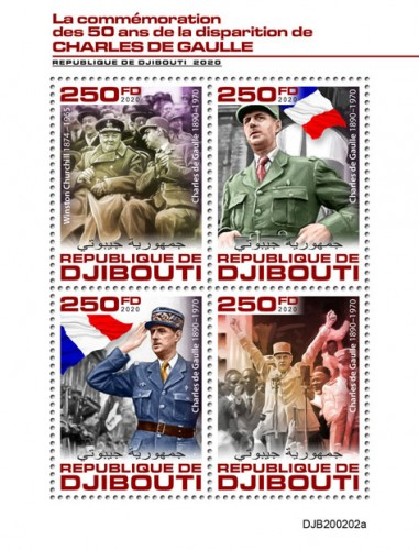 [The 50th Anniversary of the Death of Charles de Gaulle, 1890-1970, type ]