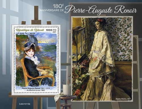 [The 180th Anniversary of the Birth of Pierre-Auguste Renoir, 1841-1919, type ]