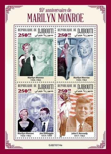 [The 95th Anniversary of the Birth of Marilyn Monroe, 1926-1962, type ]