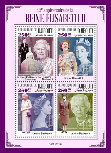 [The 95th Anniversary of the Birth of Queen Elizabeth II, type ]