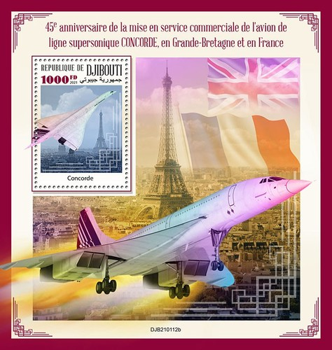 [The 45th Anniversary of the Concorde going into Commercial Service, type ]