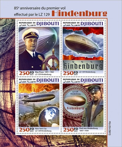 [The 85th Anniversary of the LZ129 Hindenburg, type ]
