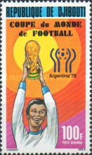 [Airmail - Football World Cup - Argentina, Typ AD]