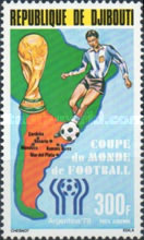 [Airmail - Football World Cup - Argentina, Typ AE]