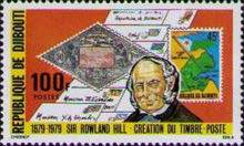 [The 100th Anniversary of the Death of Sir Rowland Hill, 1795-1879, Typ BB]