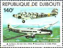[Airmail - The 75th Anniversary of Powered Flight, Typ BD]