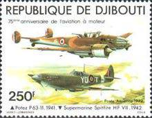 [Airmail - The 75th Anniversary of Powered Flight, Typ BE]