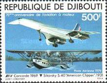 [Airmail - The 75th Anniversary of Powered Flight, Typ BF]