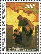 [Airmail - The 100th Anniversary of the Death of Honore Daumier (Painter), 1808-1897, Typ BN]