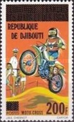"""[Various Stamps of Afars and Issas Overprinted """"REPUBLIQUE DE DJIBOUTI"""", Typ C15]"""