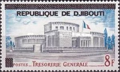 """[Various Stamps of Afars and Issas Overprinted """"REPUBLIQUE DE DJIBOUTI"""", Typ C3]"""
