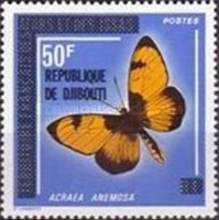 """[Various Stamps of Afars and Issas Overprinted """"REPUBLIQUE DE DJIBOUTI"""", Typ C9]"""