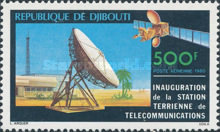 [Airmail - Inauguration of Satellite Earth Station, type CH]
