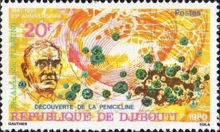[The 25th Anniversary of the Death of Alexander Fleming, 1881-1955 and the Discovery of Penicillin, type CK]