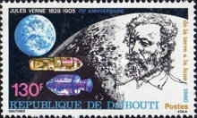 [The 75th Anniversary of the Death of Jules Verne, 1828-1905, Typ CL]
