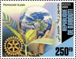 [The 115th Anniversary of the Rotary, Typ DPK]