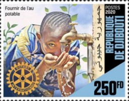 [The 115th Anniversary of the Rotary, Typ DPL]