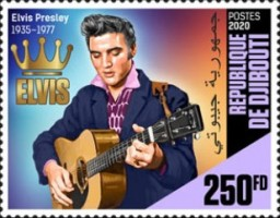 [The 85th Anniversary of the Birth of Elvis Presley, 1935-1977, Typ DPO]