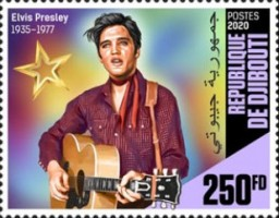 [The 85th Anniversary of the Birth of Elvis Presley, 1935-1977, Typ DPP]