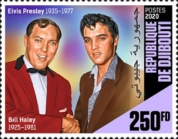 [The 85th Anniversary of the Birth of Elvis Presley, 1935-1977, Typ DPQ]