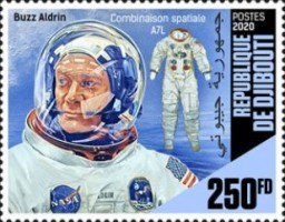 [The 90th Anniversary of the Birth of Buzz Aldrin, Typ DQA]