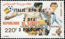 [Airmail - Football World Cup - Spain - Stamps of 1982 Overprinted Results, Typ DX1]