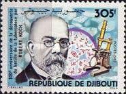 [The 100th Anniversary of Robert Koch's Discovery of Tubercle Bacillus, Typ EB]