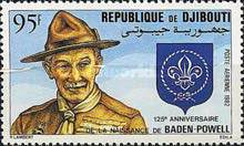[Airmail - The 125th Anniversary of the Birth of Lord Baden-Powell, Typ EK]