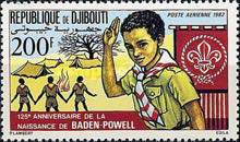 [Airmail - The 125th Anniversary of the Birth of Lord Baden-Powell, Typ EL]