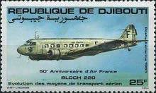[Airmail - The 50th Anniversary of Air France, Typ FE]