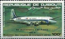 [Airmail - The 50th Anniversary of Air France, Typ FF]
