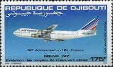 [Airmail - The 50th Anniversary of Air France, Typ FG]