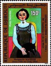 [Airmail - The 30th Anniversary of the Death of Matisse, 1893-1954 and the 100th Anniversary of the Birth of Modigliani, 1884-1920, Typ GM]