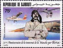 [Airmail - The 75th Anniversary of Louis Bleriot's Cross-Channel Flight, Typ HB]