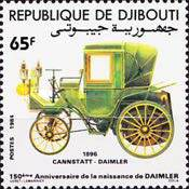[The 150th Anniversary of the Birth of Gottlieb Daimler, Typ HM]