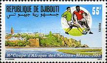 [The 16th African Nations Cup Football Championship, Morocco, Typ KJ]